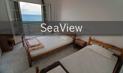 Seaview cheap hostel greek islands